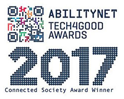 Abilitynet 2017 Connected Society Winner