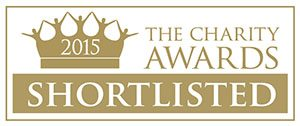 Charity Awards 2015 shortlisted