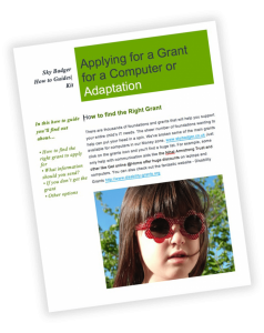 how to guide applying for an IT grant