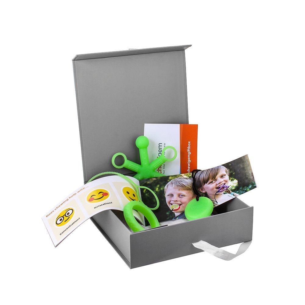 1. Chewigem Starter Kit – Glow – Glow in the Dark (child sized bangle)