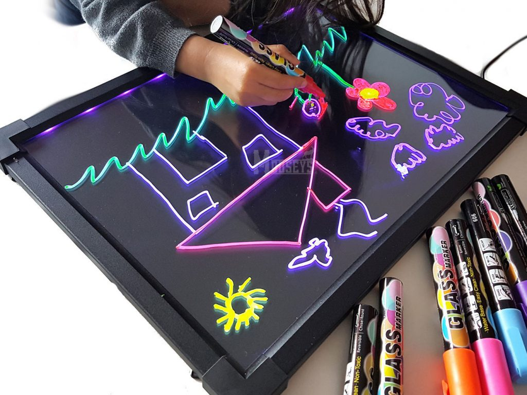 Sensory LED Light up Drawing/writing Board